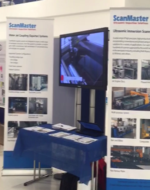 Scanmaster booth DGZfP